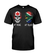 My Home Canada - South Africa Classic T-Shirt front