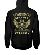 LEGENDS 65 9 Hooded Sweatshirt back