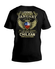 LEGENDS CHILEAN - 01 V-Neck T-Shirt thumbnail