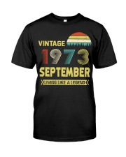 LIVING 73 9 Classic T-Shirt thumbnail