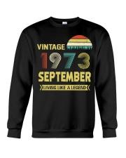 LIVING 73 9 Crewneck Sweatshirt thumbnail