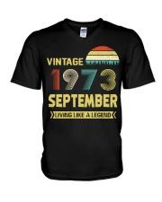 LIVING 73 9 V-Neck T-Shirt thumbnail