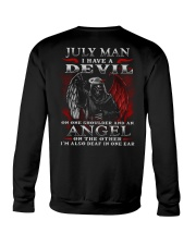 DEVIL MAN 7 Crewneck Sweatshirt thumbnail