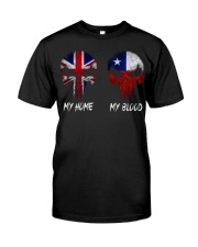 Home United Kingdom - Blood Chile Classic T-Shirt front
