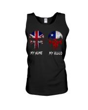Home United Kingdom - Blood Chile Unisex Tank thumbnail