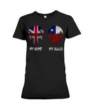 Home United Kingdom - Blood Chile Premium Fit Ladies Tee thumbnail