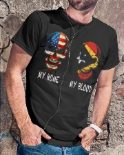 My Blood - Timor-Leste Classic T-Shirt lifestyle-mens-crewneck-front-4