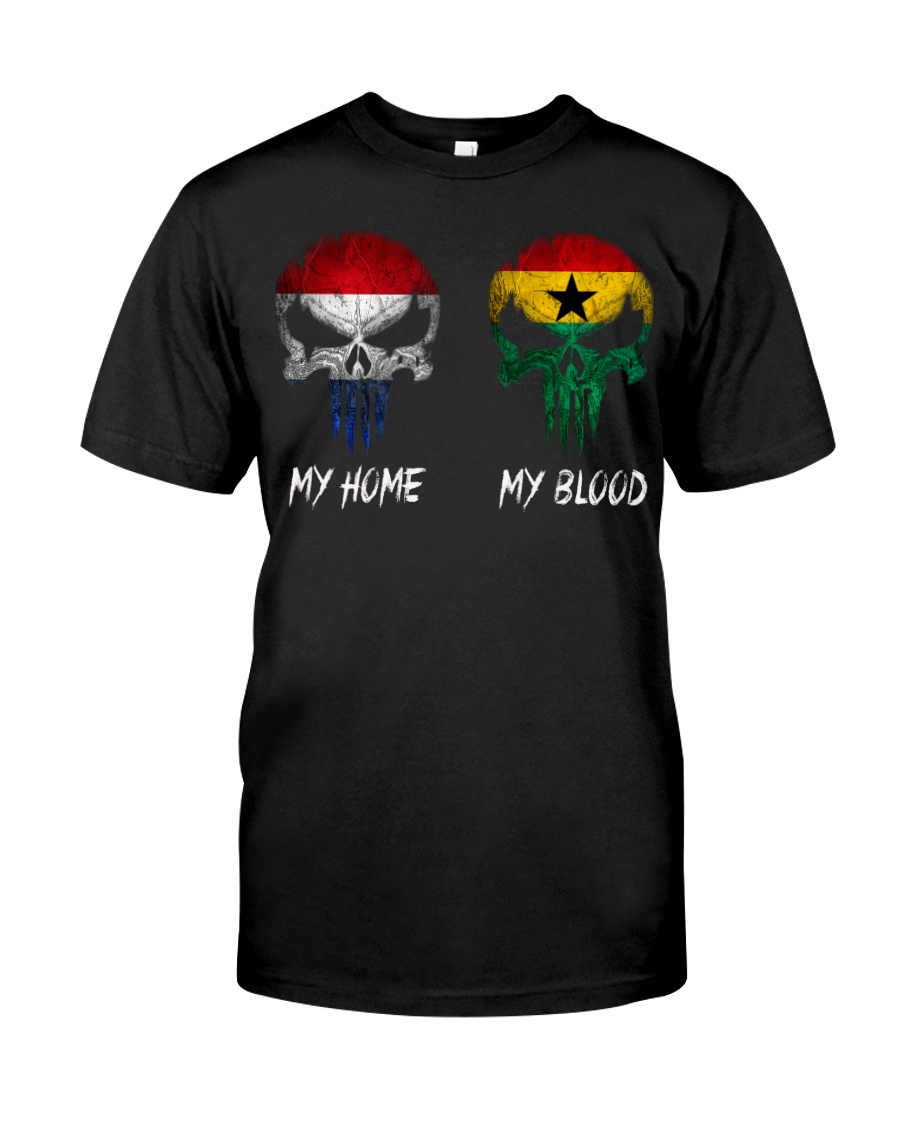Home Netherlands - Blood Ghana Classic T-Shirt