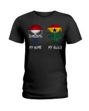 Home Netherlands - Blood Ghana Ladies T-Shirt thumbnail