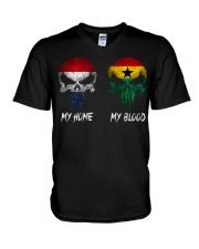 Home Netherlands - Blood Ghana V-Neck T-Shirt thumbnail