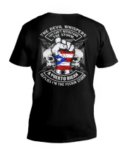 The Devil - Puerto Rican V-Neck T-Shirt tile
