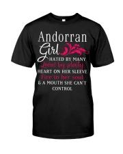 Andorran Girl Classic T-Shirt thumbnail