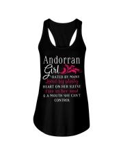 Andorran Girl Ladies Flowy Tank thumbnail