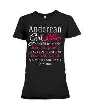 Andorran Girl Premium Fit Ladies Tee thumbnail