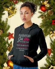 Andorran Girl Hooded Sweatshirt lifestyle-holiday-hoodie-front-4