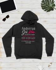 Andorran Girl Hooded Sweatshirt lifestyle-unisex-hoodie-front-8