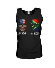 My Blood - South Africa Unisex Tank thumbnail