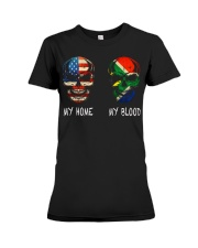 My Blood - South Africa Premium Fit Ladies Tee thumbnail