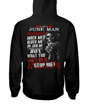 WATCHME 6 Hooded Sweatshirt back