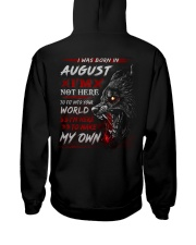 MY OWN 8 Hooded Sweatshirt back