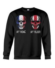 My Home France - England Crewneck Sweatshirt thumbnail