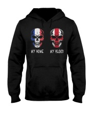 My Home France - England Hooded Sweatshirt thumbnail