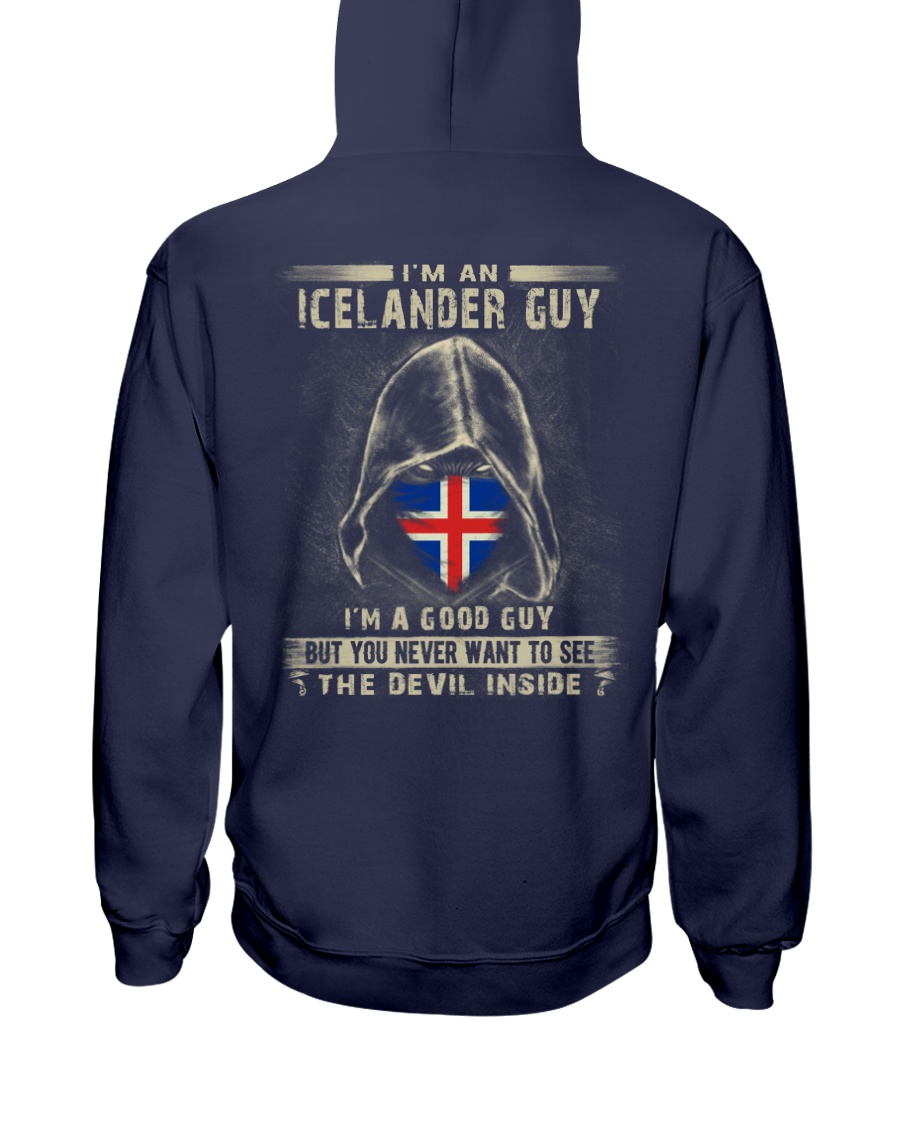 I'm A Good Guy - Icelander Hooded Sweatshirt