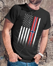 Country - Norway Classic T-Shirt lifestyle-mens-crewneck-front-4