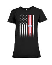 Country - Norway Premium Fit Ladies Tee thumbnail