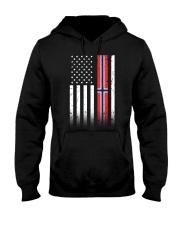 Country - Norway Hooded Sweatshirt thumbnail