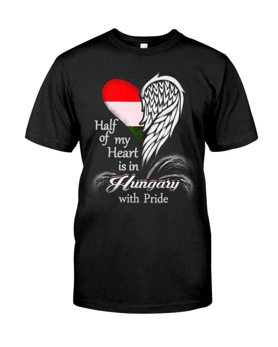 Heart - Pride Hungary Classic T-Shirt