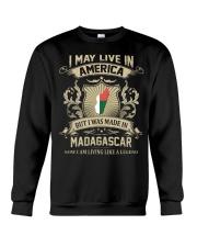 Live In America - Made In Madagascar Crewneck Sweatshirt thumbnail