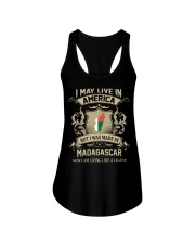 Live In America - Made In Madagascar Ladies Flowy Tank thumbnail