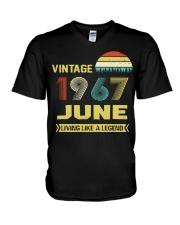 LIVING 67 6 V-Neck T-Shirt thumbnail