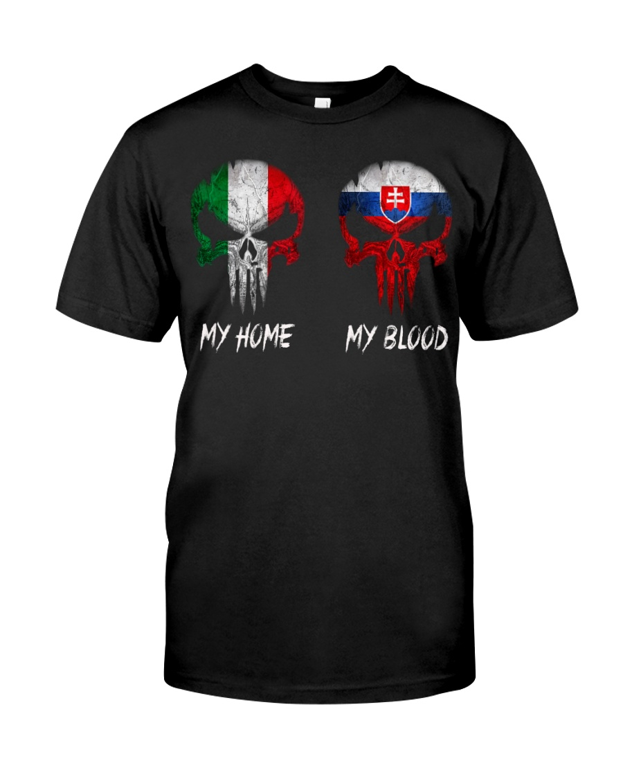 Home Italy - Blood Slovakia Classic T-Shirt
