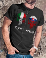 Home Italy - Blood Slovakia Classic T-Shirt lifestyle-mens-crewneck-front-4
