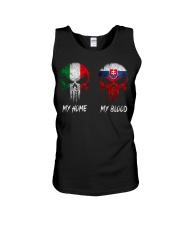 Home Italy - Blood Slovakia Unisex Tank thumbnail