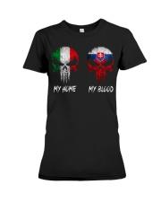 Home Italy - Blood Slovakia Premium Fit Ladies Tee thumbnail