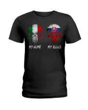 Home Italy - Blood Slovakia Ladies T-Shirt thumbnail
