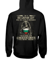 BULGARIAN GUY - 011 Hooded Sweatshirt thumbnail