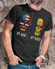 My Blood - Andorra Classic T-Shirt lifestyle-mens-crewneck-front-4