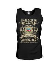 Live In America - Made In Azerbaijan Unisex Tank thumbnail