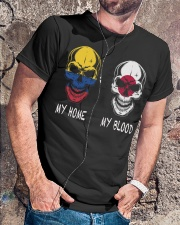 My Home Colombia - Japan Classic T-Shirt lifestyle-mens-crewneck-front-4