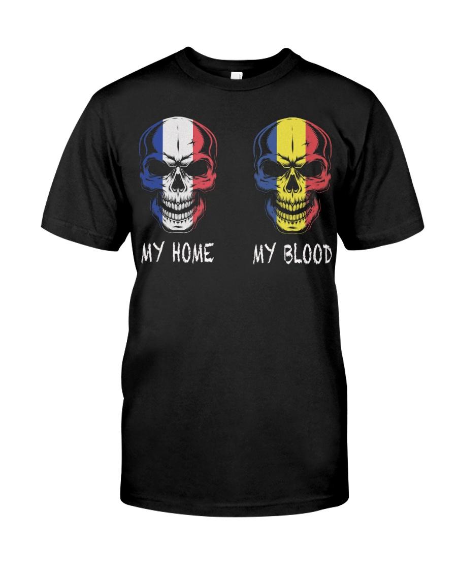 My Home France - Romania Classic T-Shirt