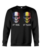 My Home France - Romania Crewneck Sweatshirt thumbnail