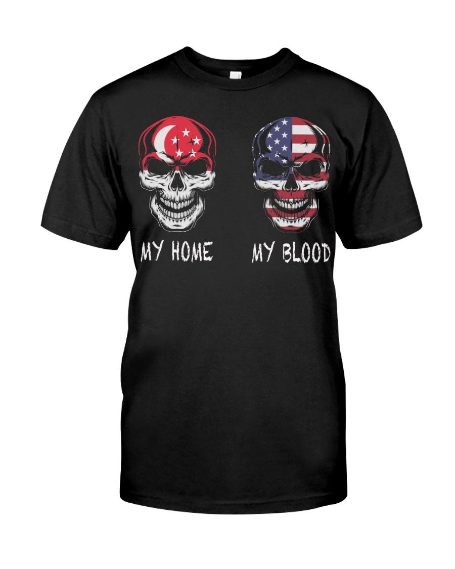 My Home Singapore - America Classic T-Shirt