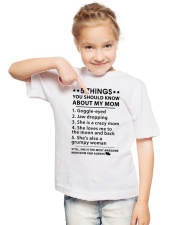 My Mom Youth T-Shirt lifestyle-youth-tshirt-front-2