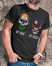 My Home India - Malaysia Classic T-Shirt lifestyle-mens-crewneck-front-4
