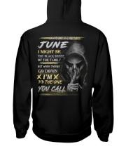 YOU CALL 6 Hooded Sweatshirt back