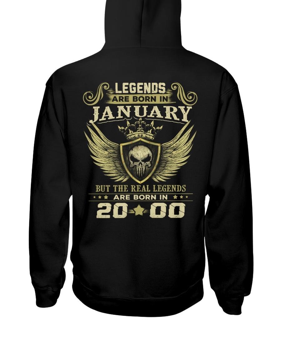 LEGENDS 00 1 Hooded Sweatshirt